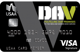Disabled American Veterans USAA Rewards™ Visa Signature® Card