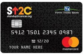Fifth Third Bank Stand Up to Cancer Credit Card