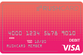 Gloss Prepaid Visa RushCard