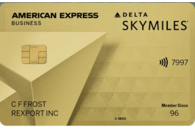 Delta SkyMiles Gold Business American Express Credit Card