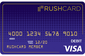Midnight Prepaid Visa RushCard