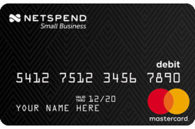 Netspend Small Business Prepaid Mastercard