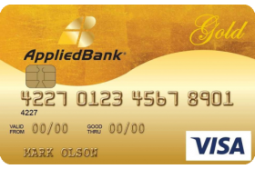 Applied Bank® Gold Preferred® Secured Visa® Credit Card