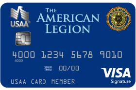 The American Legion USAA Rewards™ Visa Signature® Card