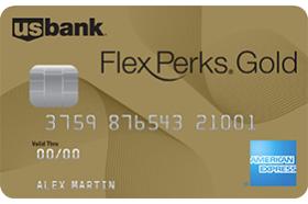 US Bank FlexPerks® Gold American Express® Card
