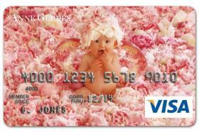 Anne Geddes Visa Card