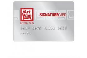Art Van Credit Card