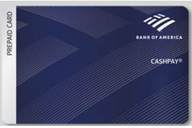 Bank of America CashPay Prepaid Visa