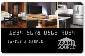 Brand Source Credit Card