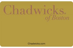 Chadwick's of Boston Credit Card