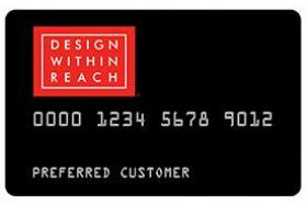 Design Within Reach Credit Card