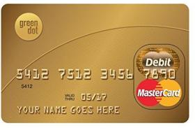 Green Dot Prepaid Everyday Mastercard