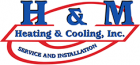H & M Heating and cooling inc