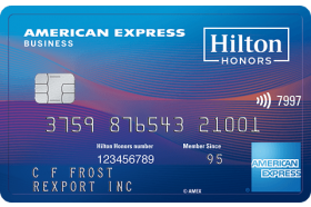 Hilton Honors American Express Business
