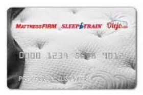 Mattress Firm Credit Card