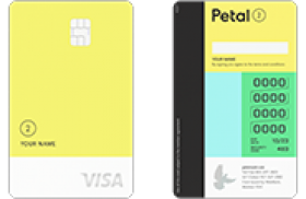 Petal Cash Back Visa Card