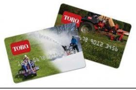Toro-Exmark Credit Card