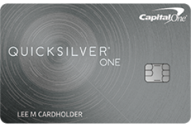 Capital One QuicksilverOne® Cash Rewards