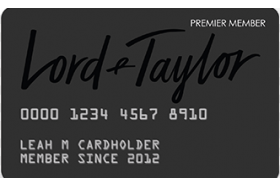 Lord & Taylor Credit Card