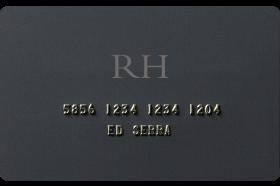 RH Credit Card