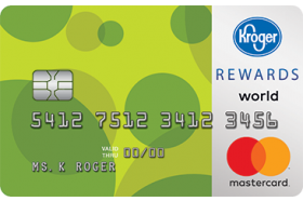 Kroger 1-2-3 REWARDS® World Mastercard®
