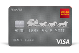 Wells Fargo Rewards Visa Card