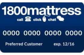 1800Mattress Credit Card