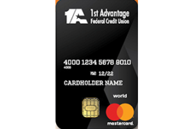 1st Advantage Federal Credit Union World Mastercard