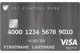 1st Century Bank Signature Rewards Card