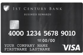 1st Century Bank Visa® Business Rewards Credit Card