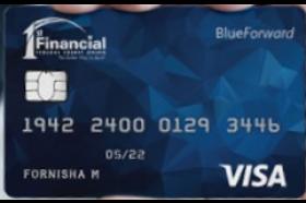 1st Financial Federal Credit Union Visa Blue Forward Card
