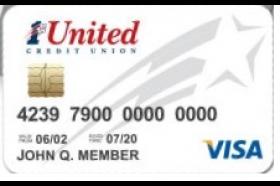 1st United Credit Union Starter Visa Platinum Credit Card