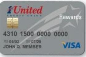 1st United Credit Union Visa Platinum Rewards Credit Card