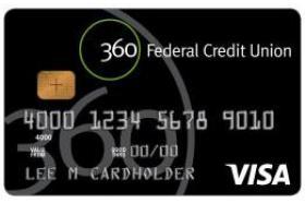 360 Federal Credit Union Secured Visa Classic Credit Card