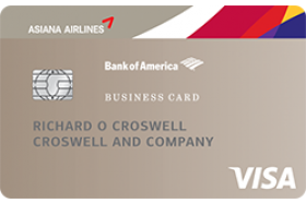 Asiana Airlines Business credit card