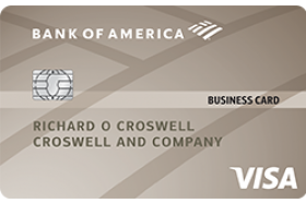 Bank of America Platinum Visa® Business Credit Card