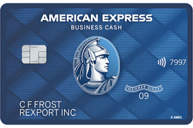 American Express National Bank Blue Business Cash Credit Card