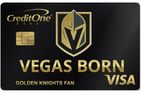 Credit One Bank Vegas Born Visa