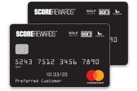 Dick's Sporting Goods ScoreRewards Mastercard