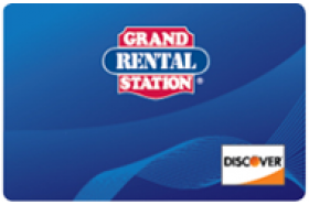 Grand Rental Station Discover Card