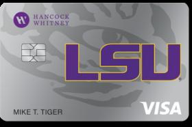 Hancock Whitney Visa® Platinum Credit Card