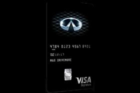 Infiniti Visa Signature Card