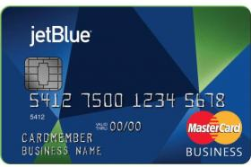 Jet Blue Business Card