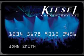 Kiesel Guitars Credit Card