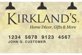 Kirkland's Credit Card