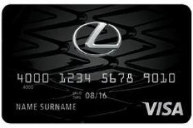 Lexus Pursuits Visa® Signature