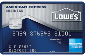 American Express National Bank Lowe's Business Rewards Credit Card