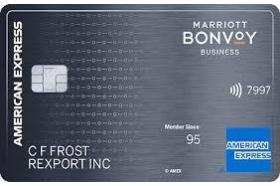 American Express® National Bank Marriott Bonvoy Business Credit Card