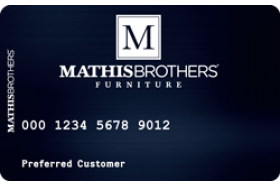 Mathis Brothers Furniture Credit Card