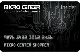 Micro Center Insider® Credit Card